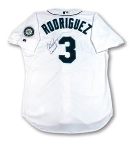 2000 Alex Rodriguez Game Worn Jersey