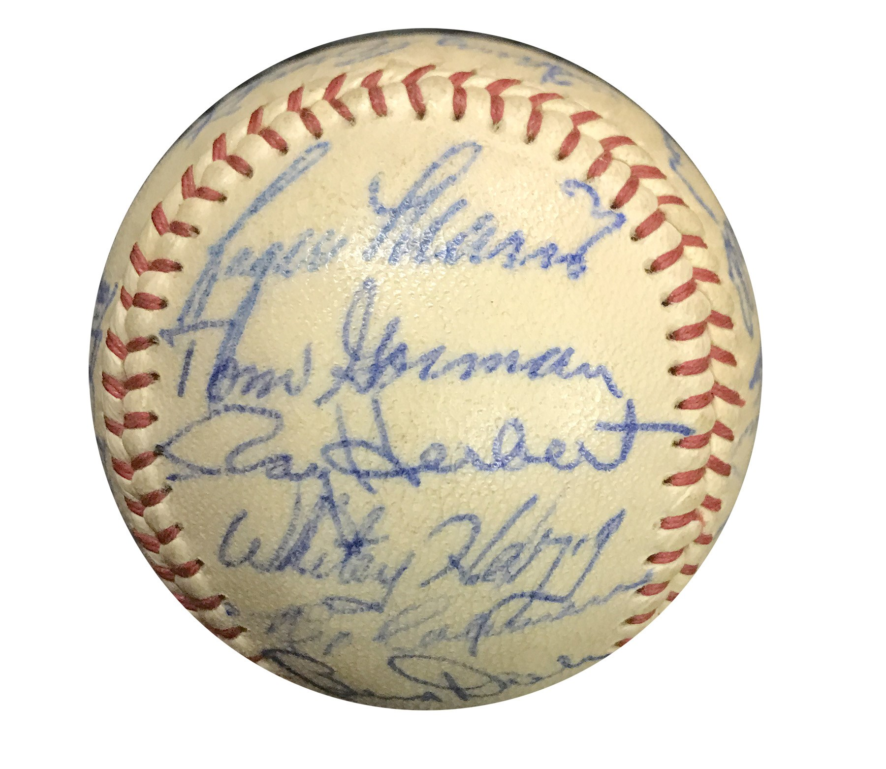 The John O'connor Signed Baseball Collection - Leland's Classic