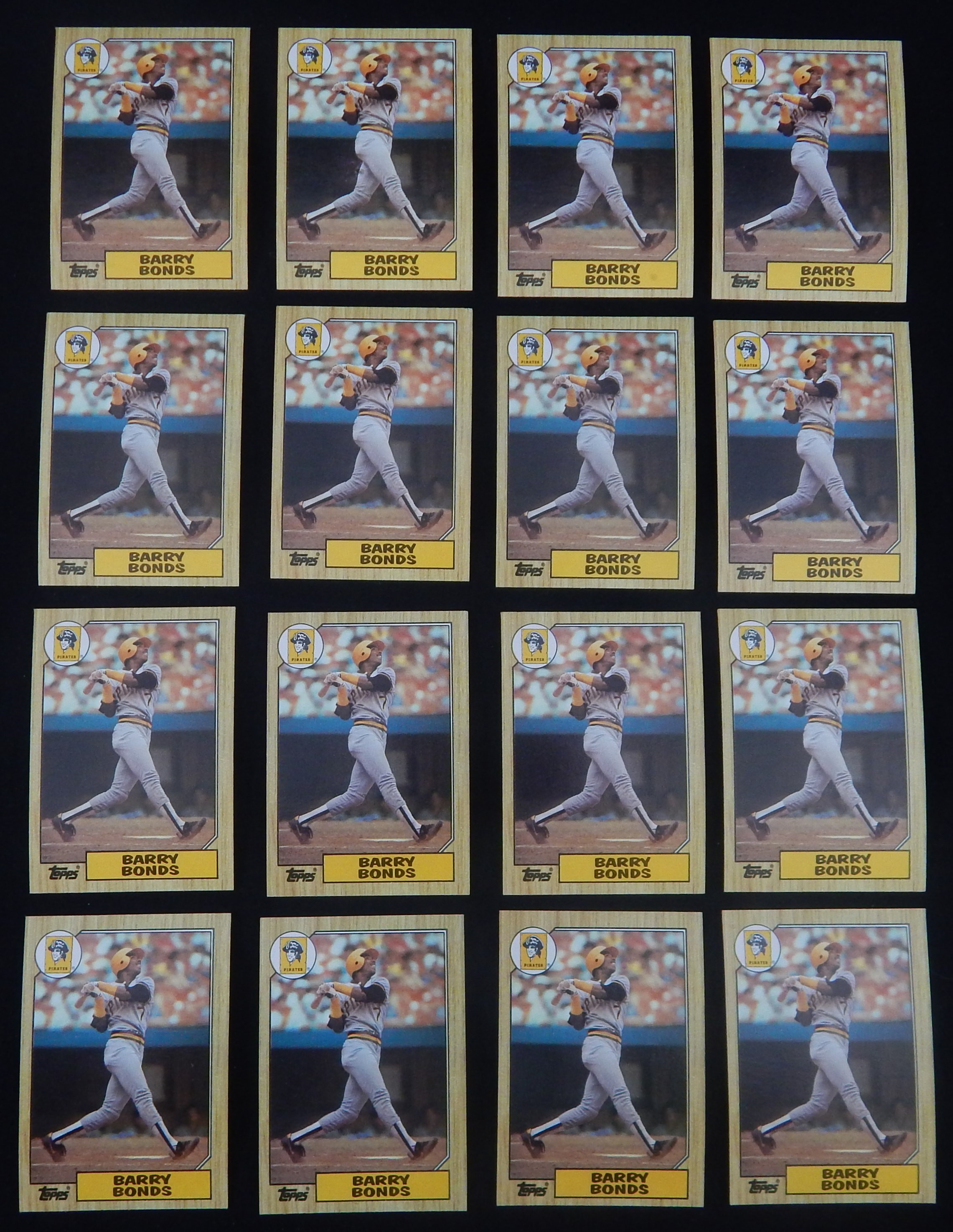 Mint 1987 Topps Baseball Cards w/Complete Sets (16,000+ cards)