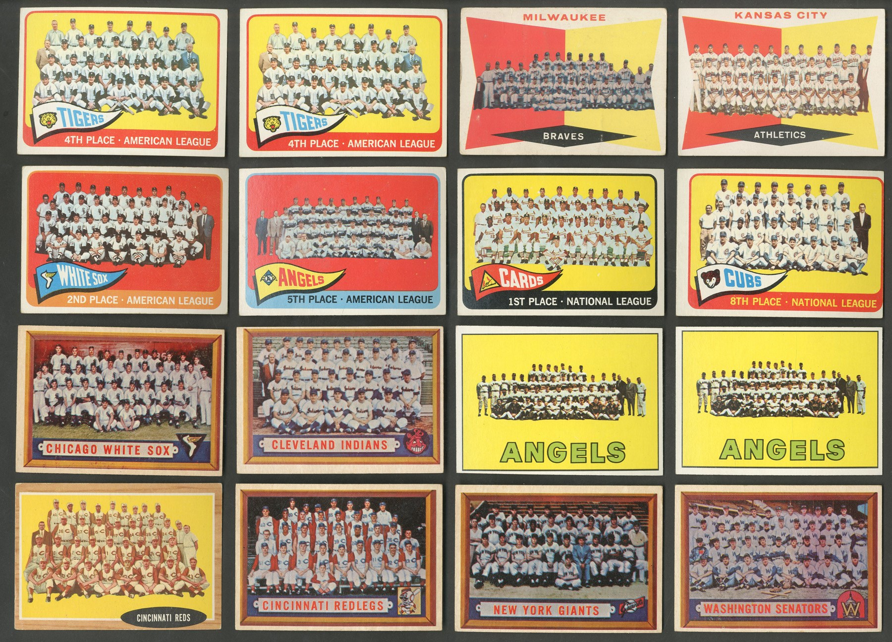 1950s-60s Topps Baseball Team Card Collection (40+)