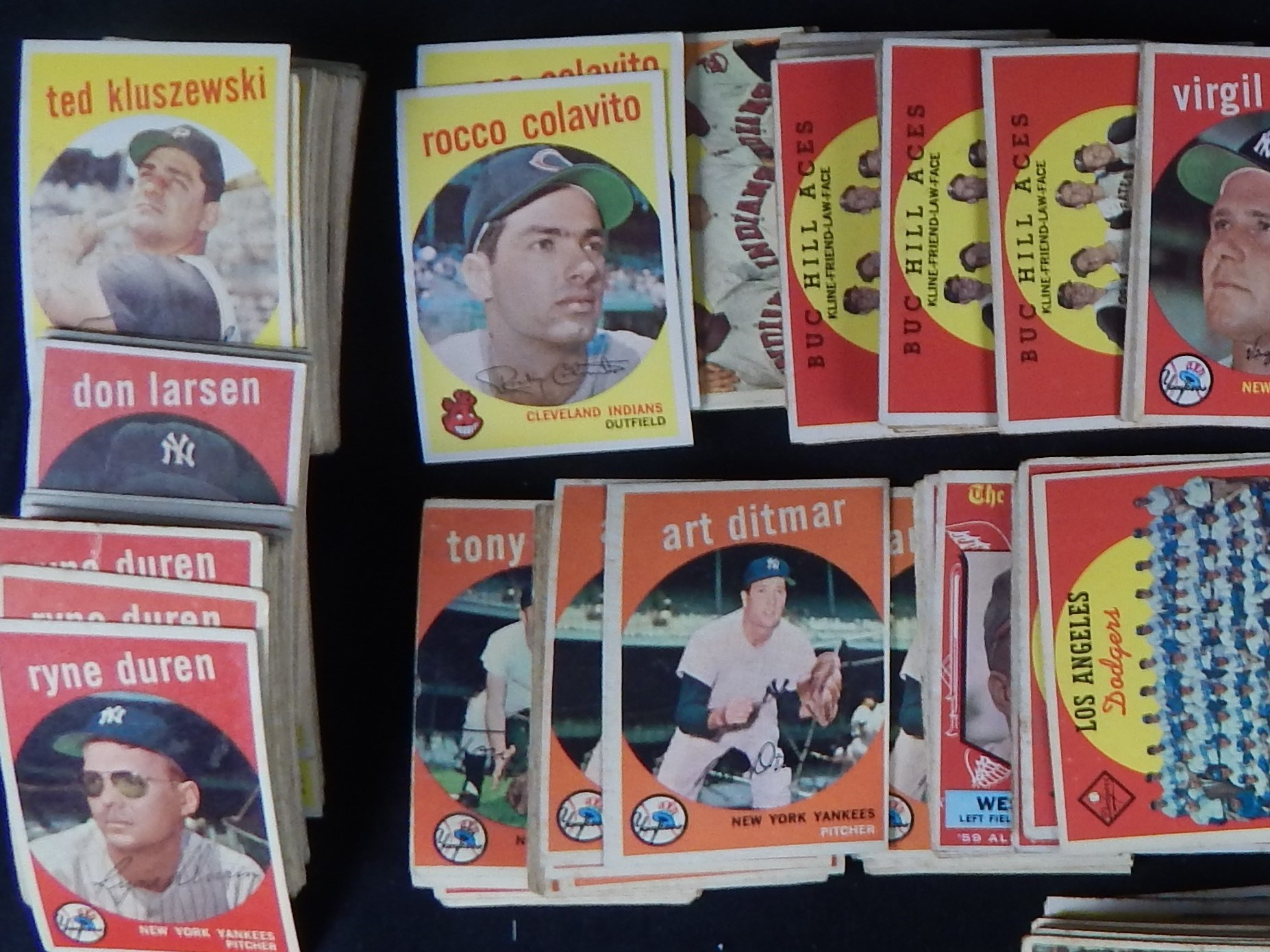 1959 Topps Lot of Stars and Specials of over 230 Cards