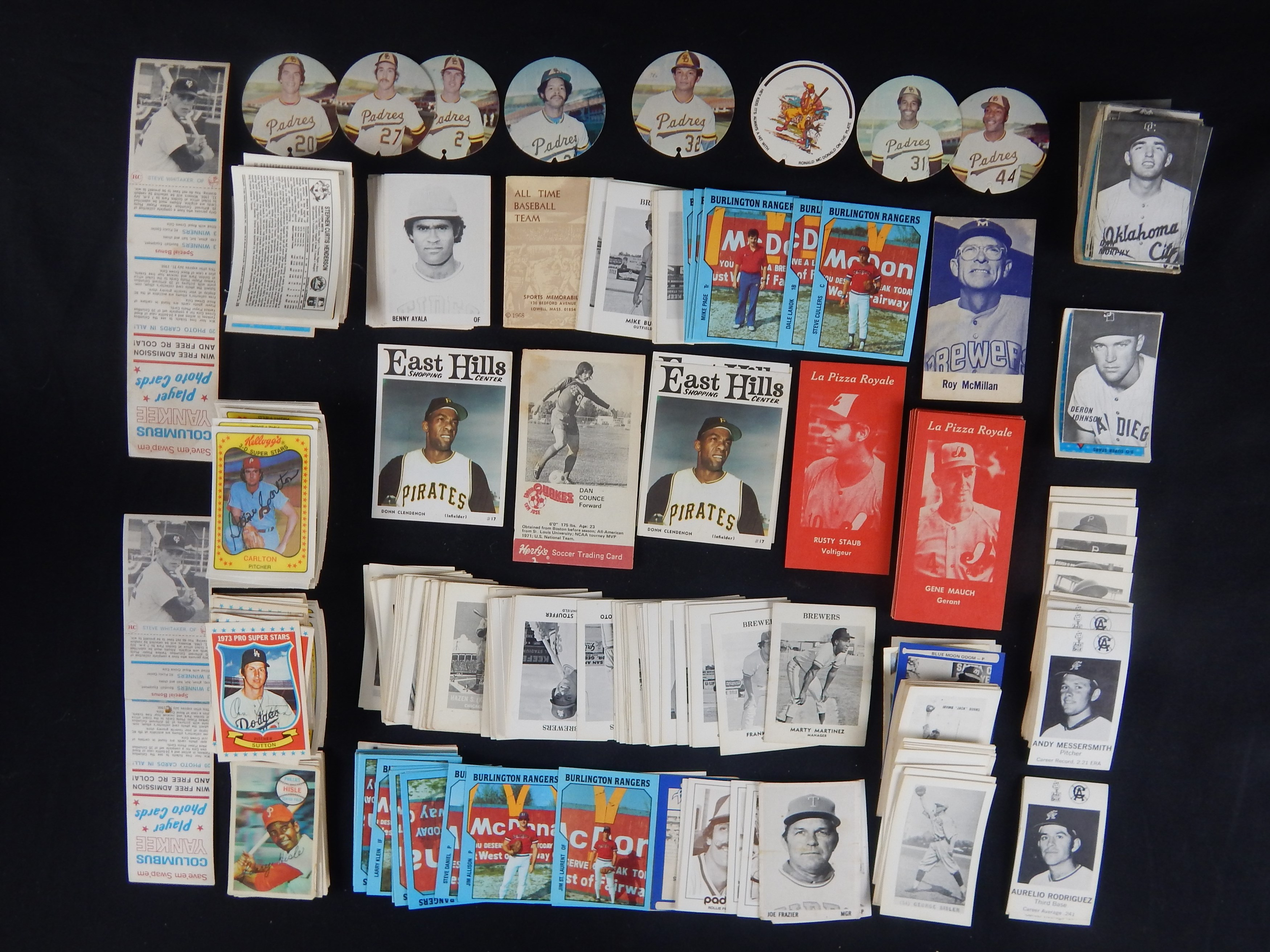 1960s-70s Oddball Lot of Cards Inc. Minor League and Frank Nagy Cards