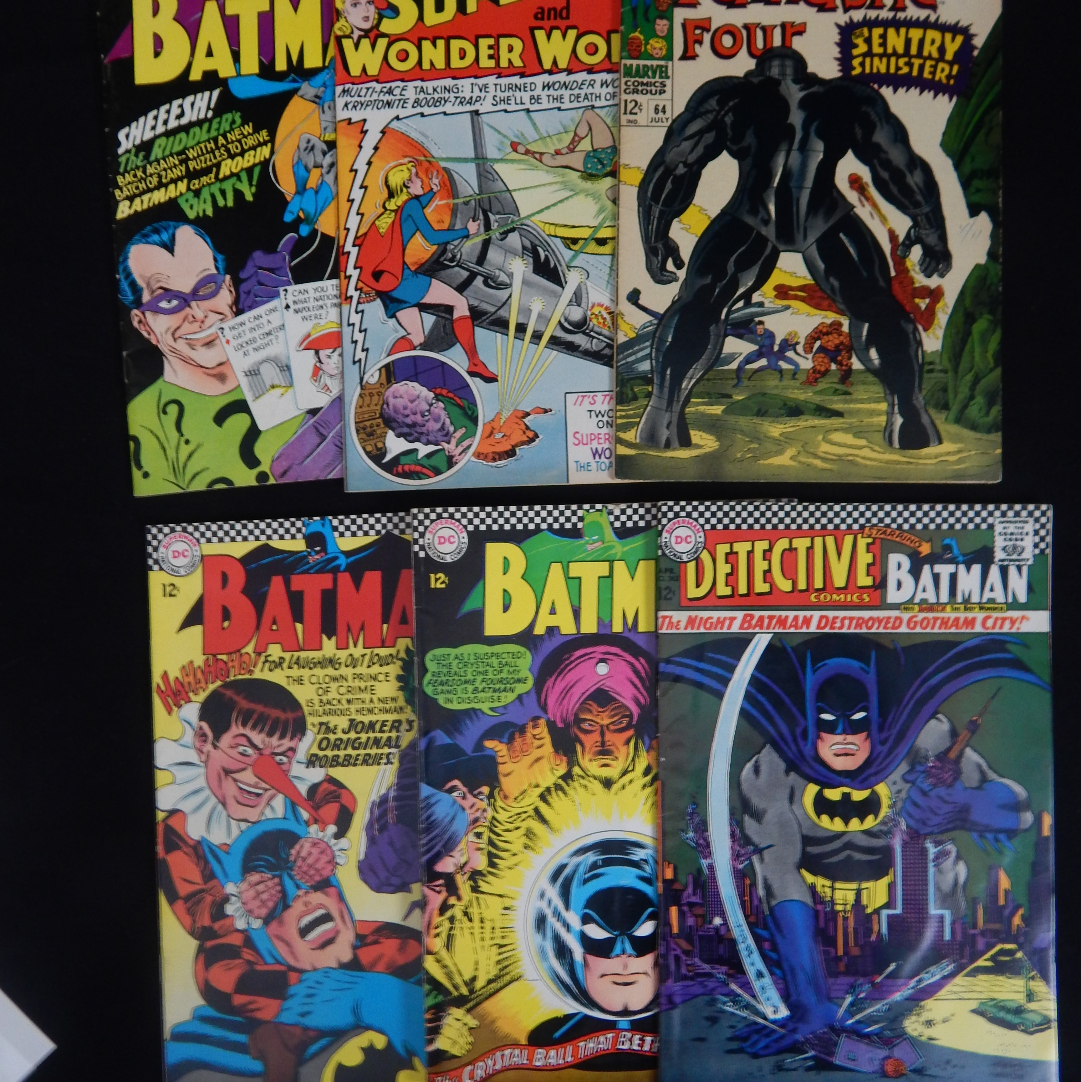 1960s Batman Comic Books & More (8)