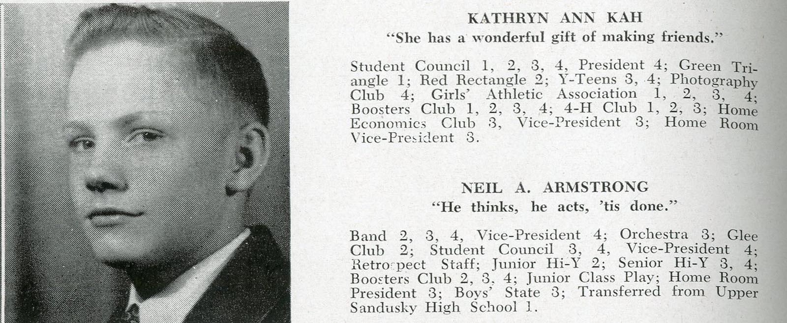 1947 Neil Armstrong High School Yearbook