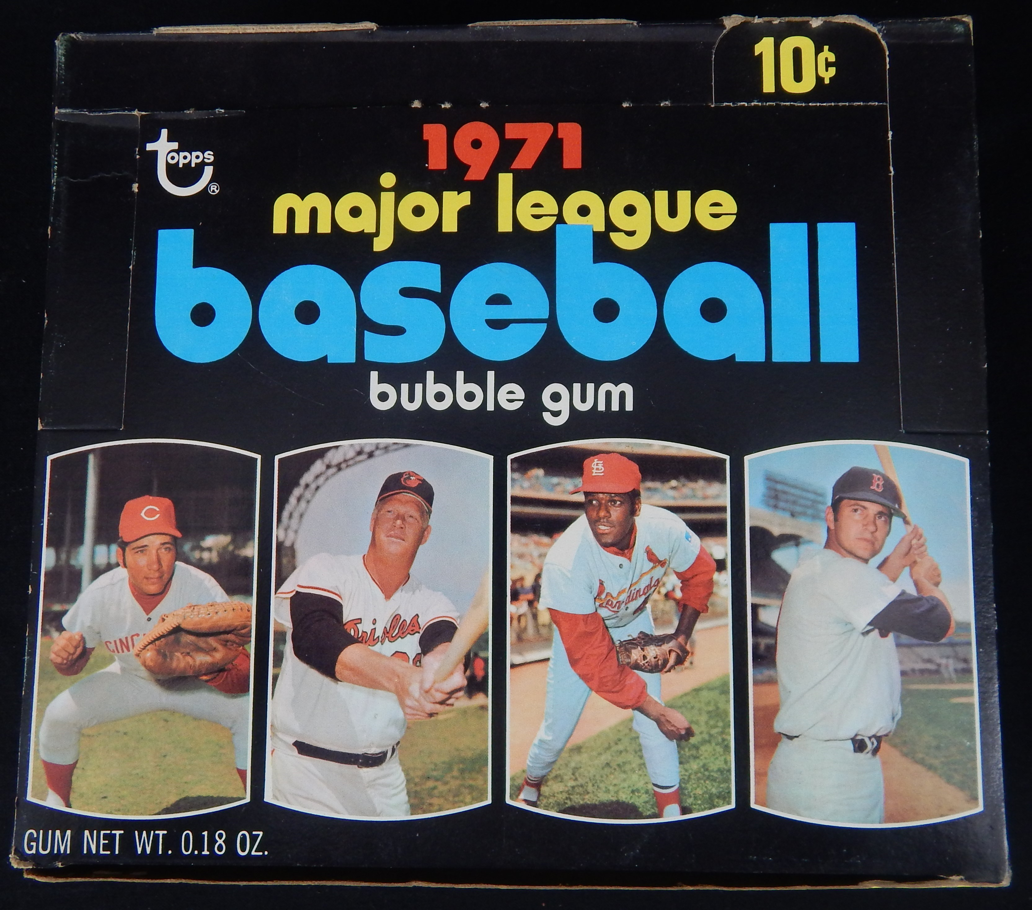 1971 Topps 4th Series Display Box