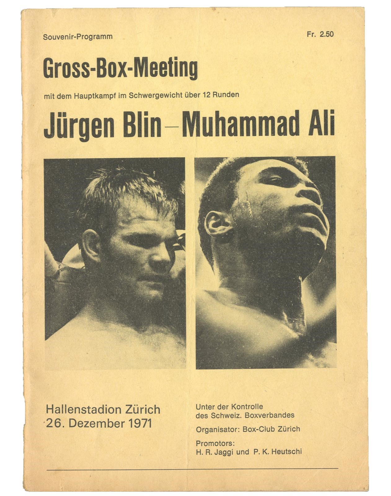 Muhammad Ali & Boxing - Monthly 04-18