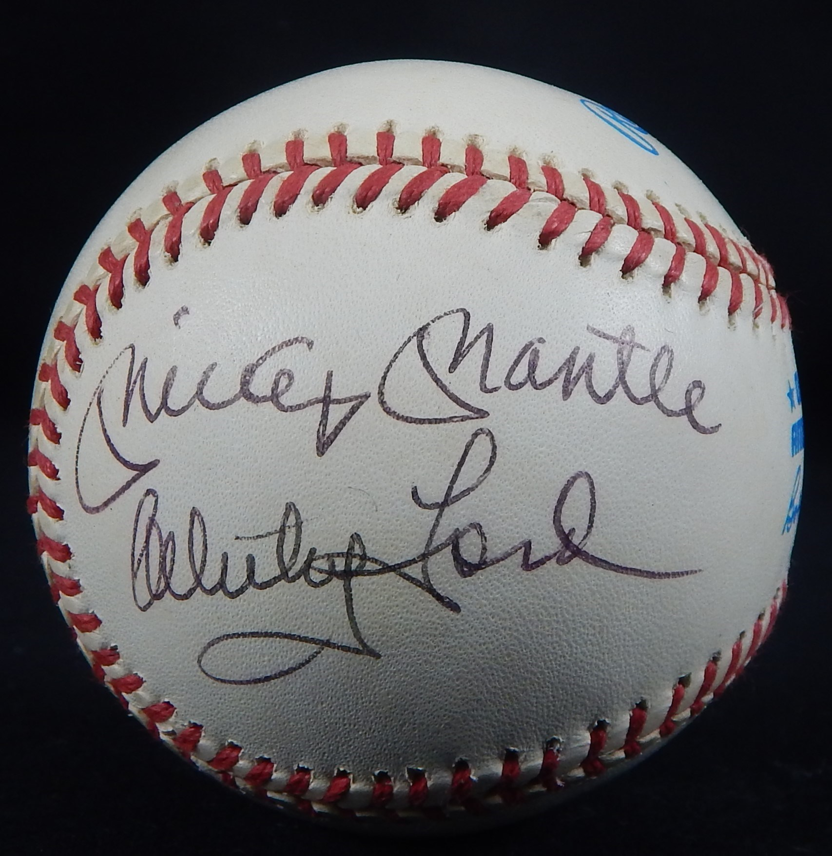 Autographed Baseballs - Monthly 04-18