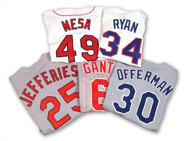 All-Star Game Worn Jersey Collection (5)