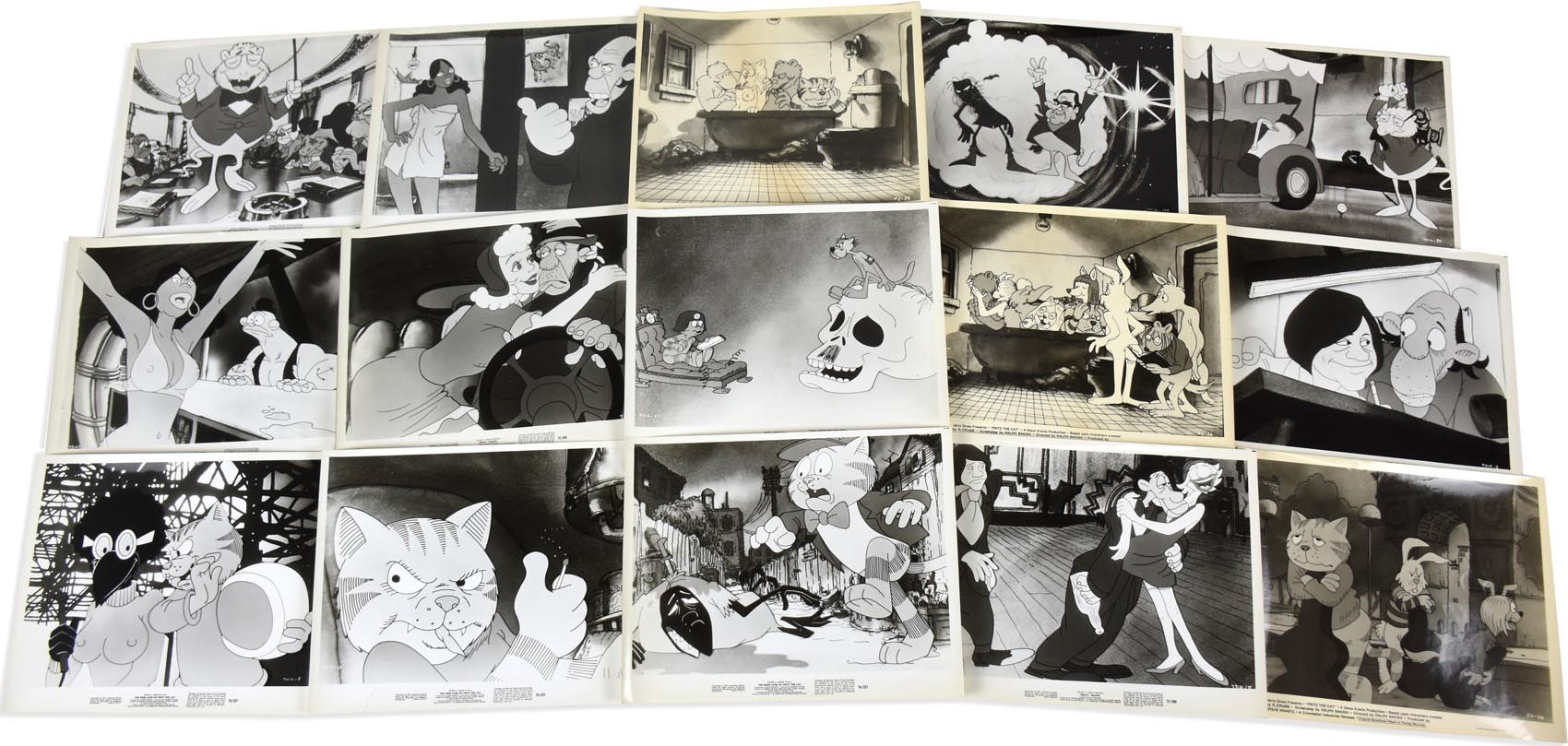 1970s Fritz The Cat & More Movie Stills (18)