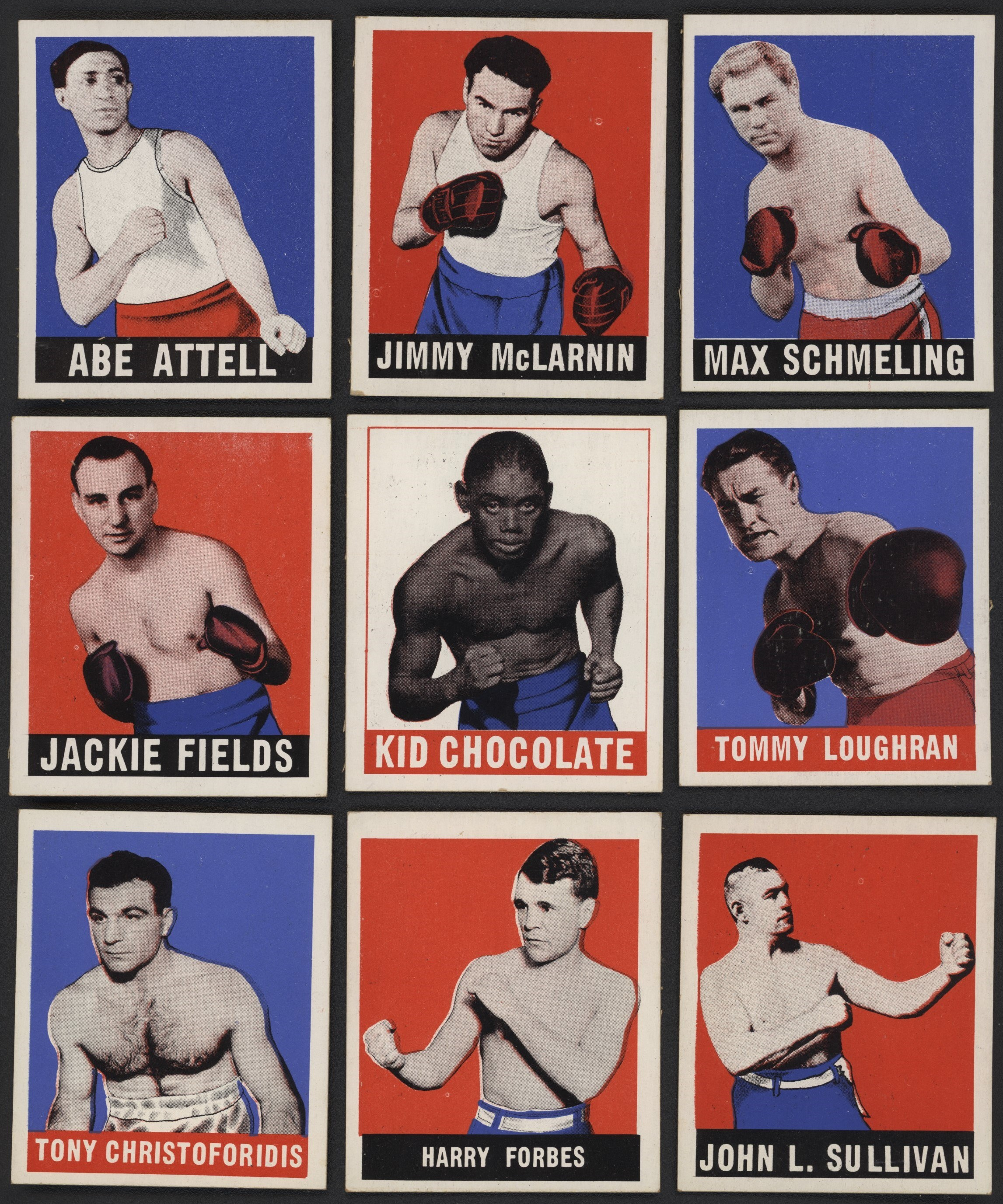 Boxing Cards - Monthly 04-18