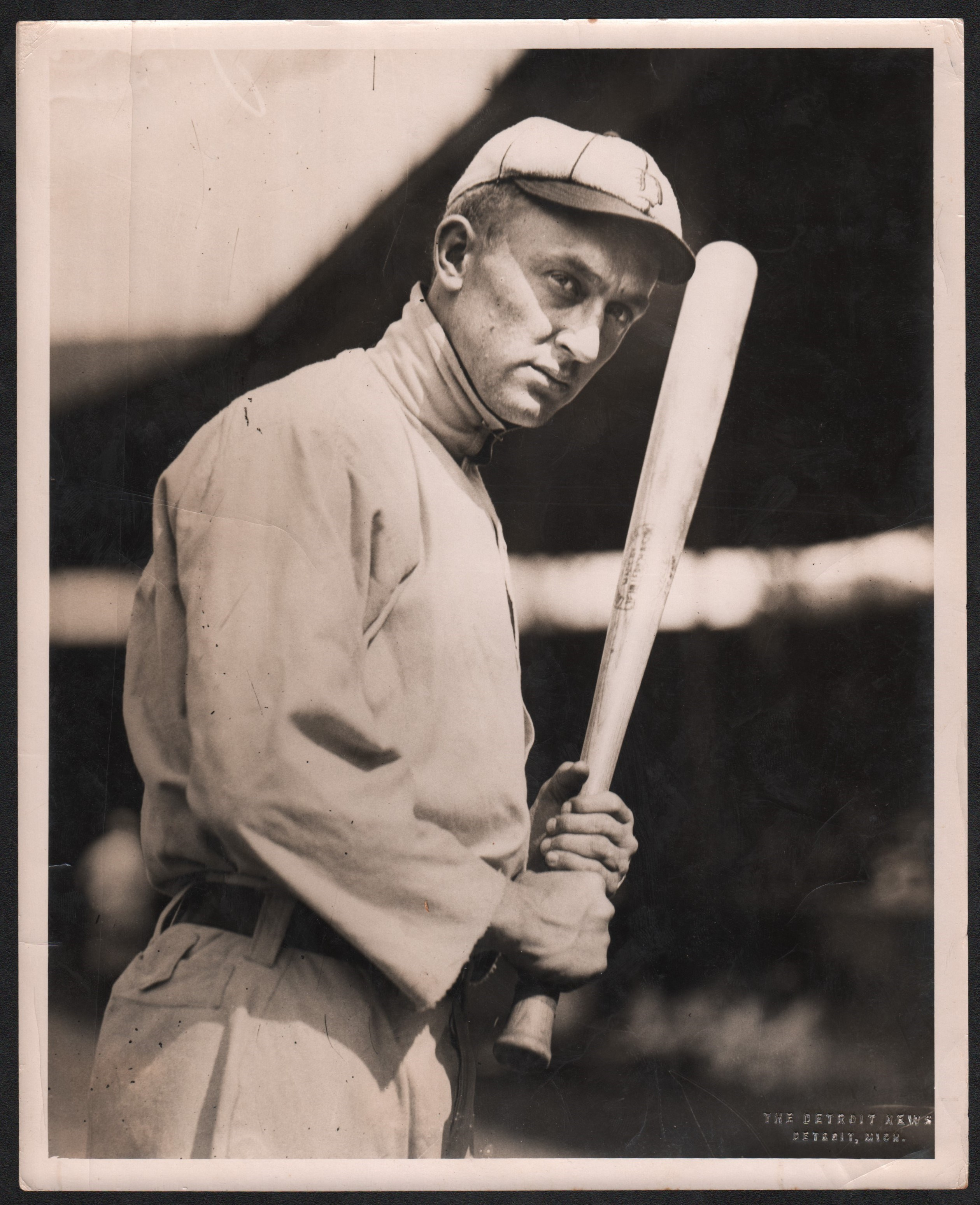 Ty Cobb Photograph Used In T206 Baseball Card Psadna