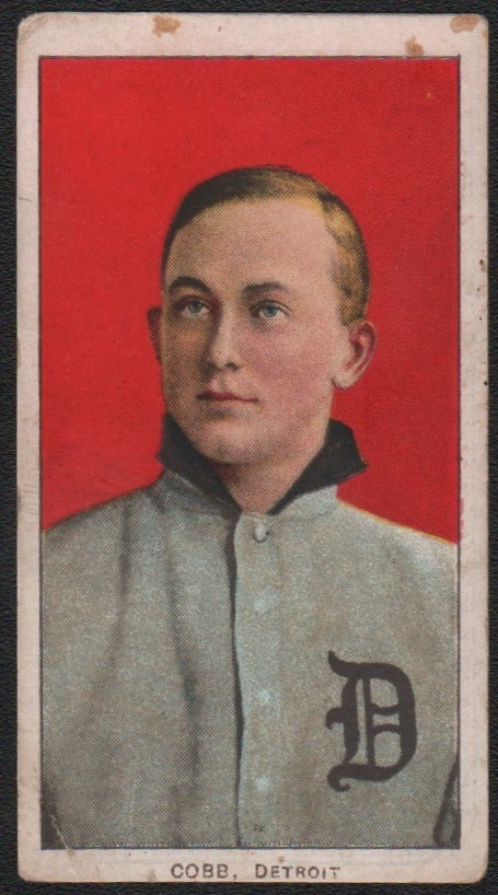 T206 Polar Bear Ty Cobb Red Back