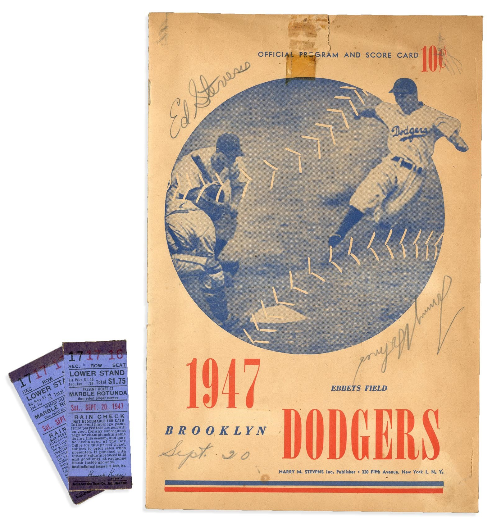 Jackie Robinson & Brooklyn Dodgers - Monthly 07-18