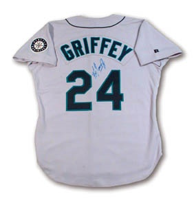 1993 Ken Griffey, Jr. Game Worn Jersey.