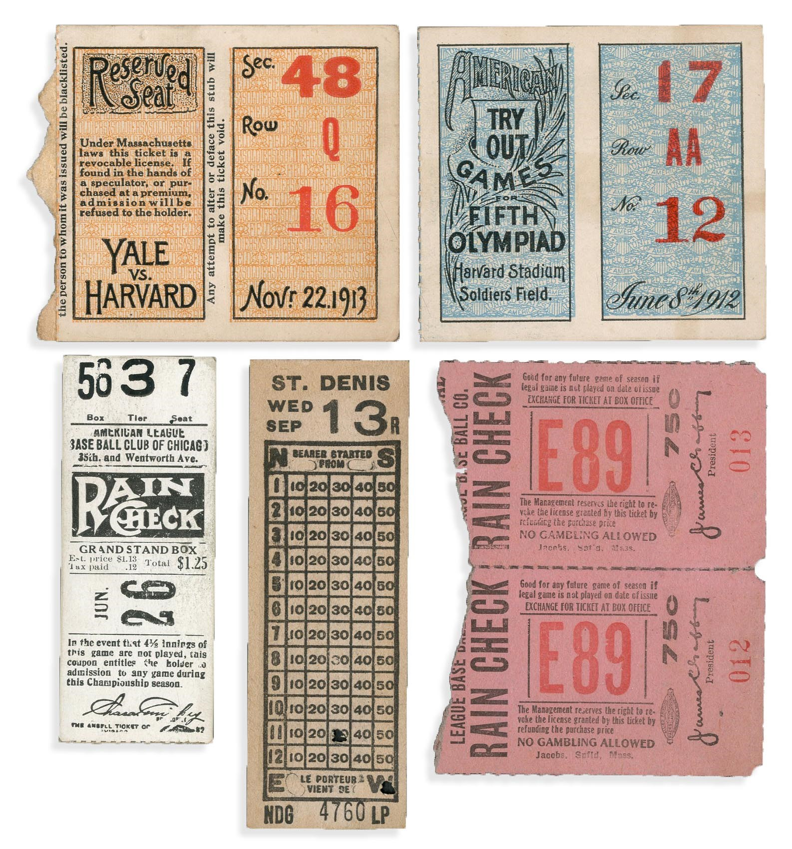 1912-13 Sports Ticket Collection (6)