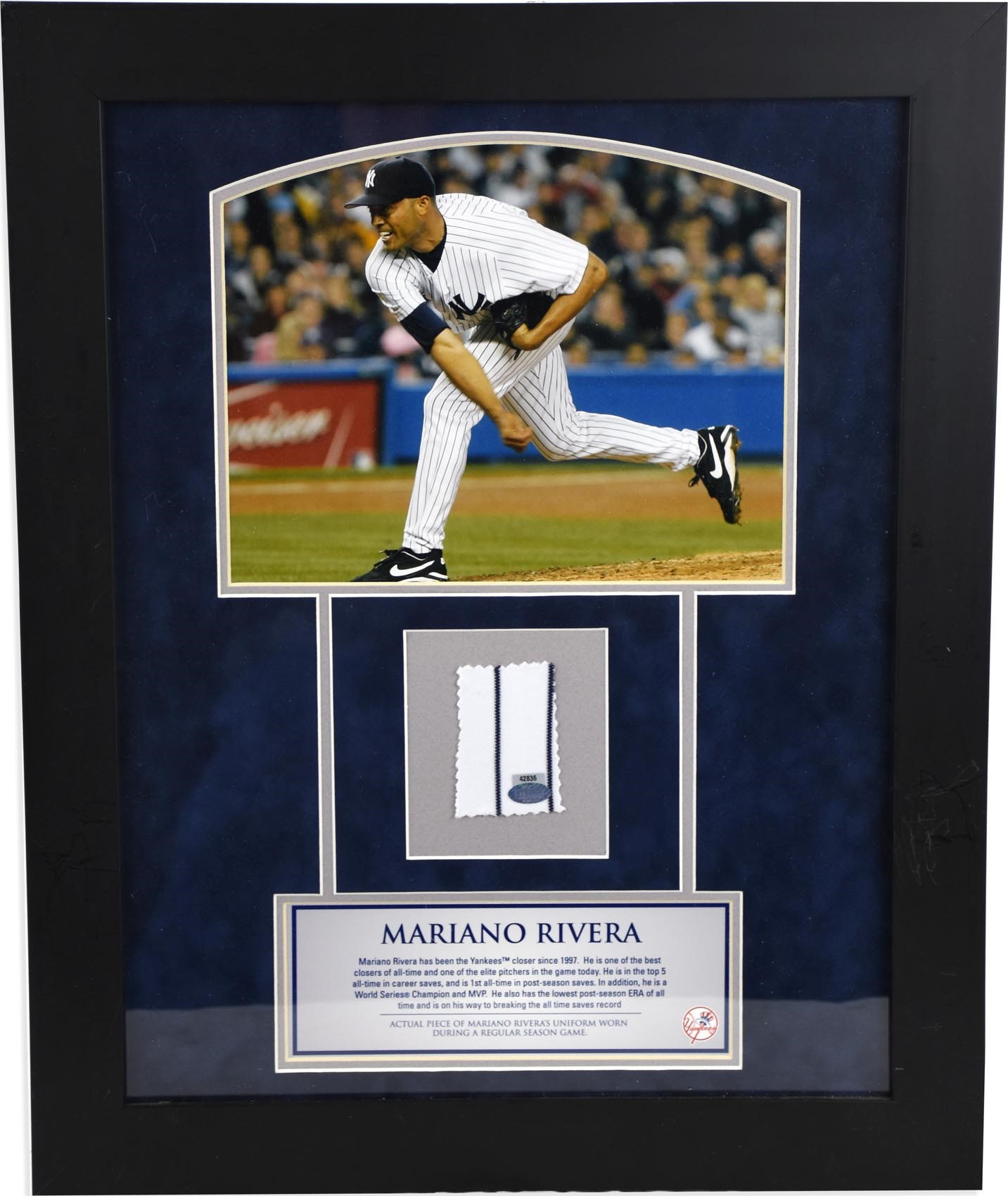 Mariano Rivera Signed Memorabilia Collection