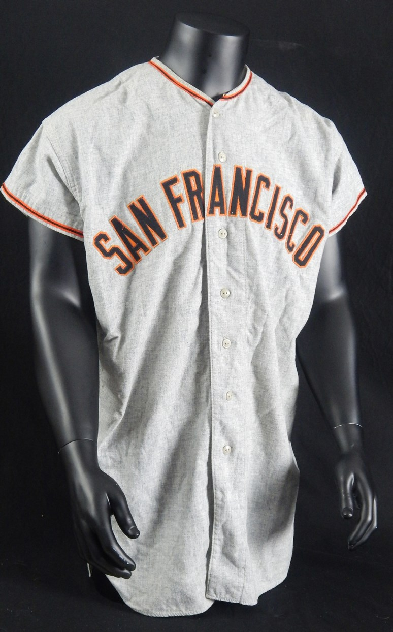 Game Used Baseball Jerseys and Equipment - Monthly 07-18