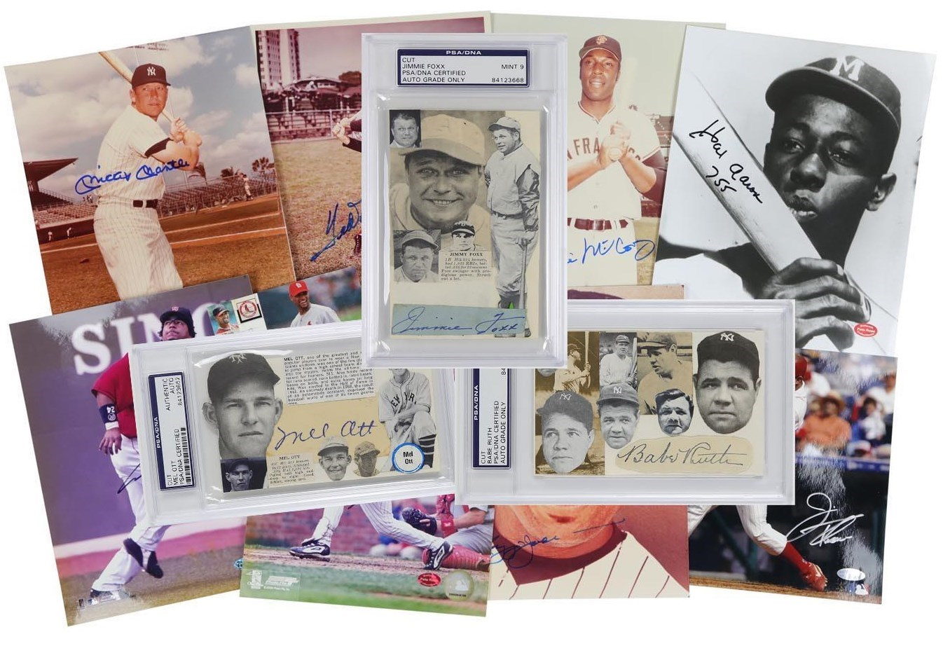 Amazing 500 Home Run Club Autograph Complete Collection