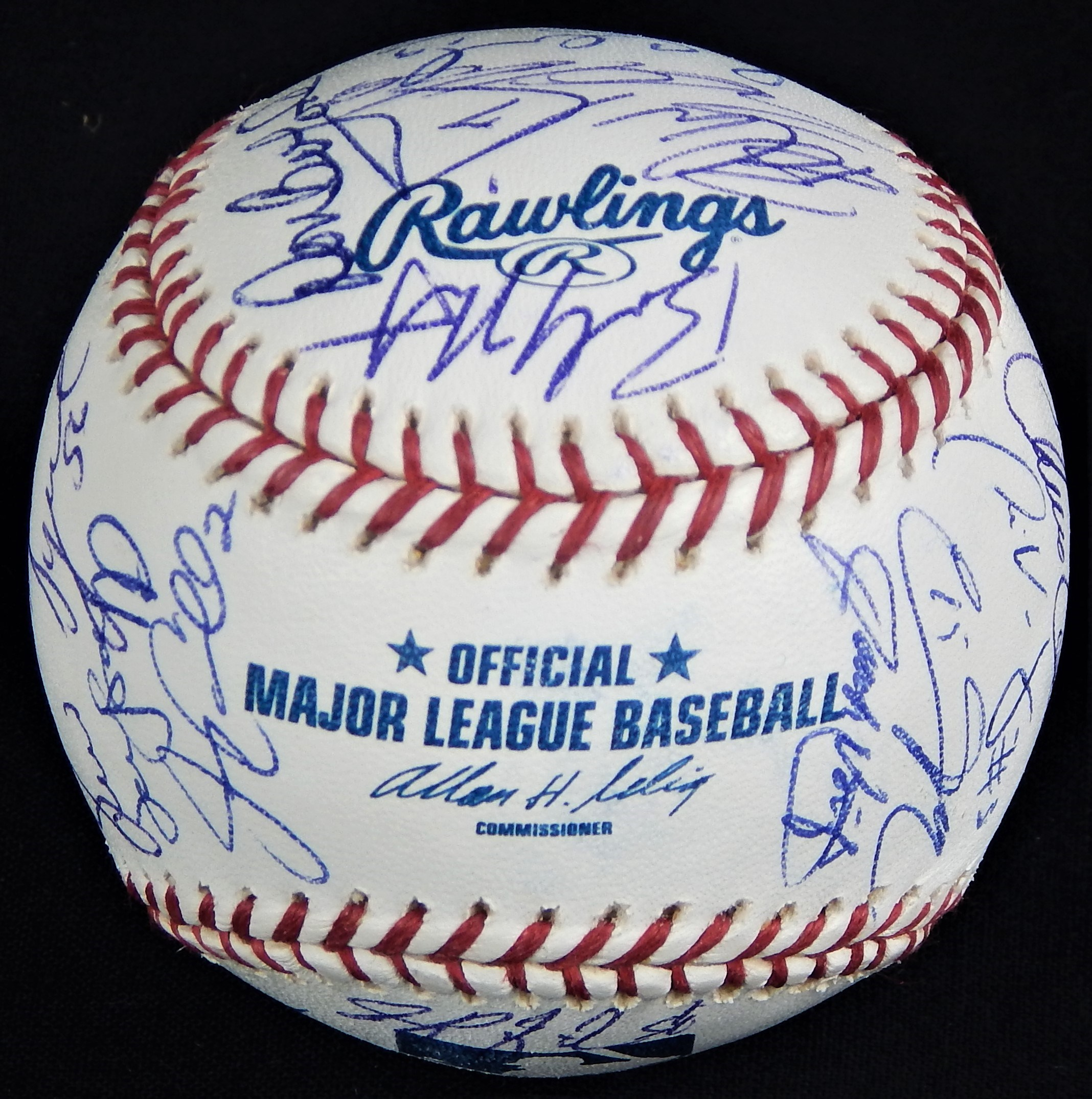 2005 Washington Nationals First Year Team Signed Baseball with Frank Robinson