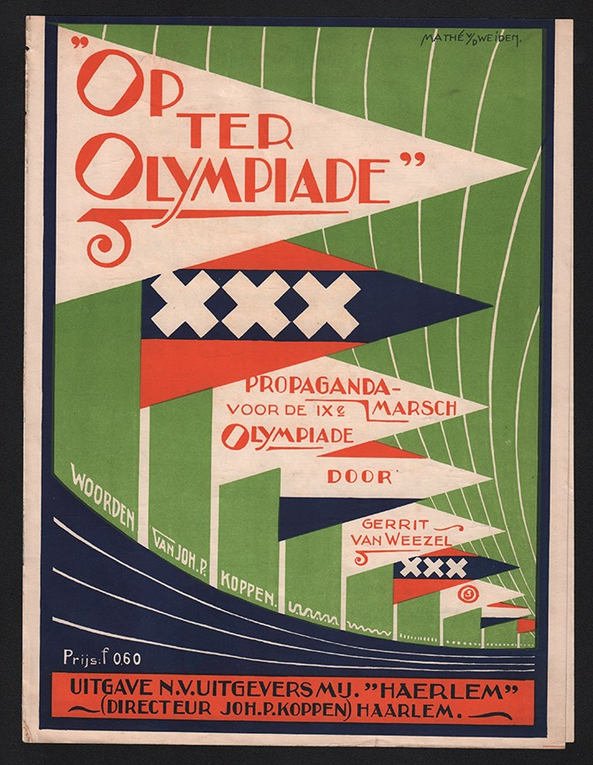 1924 + 1928 Olympic Sheet Music (2)