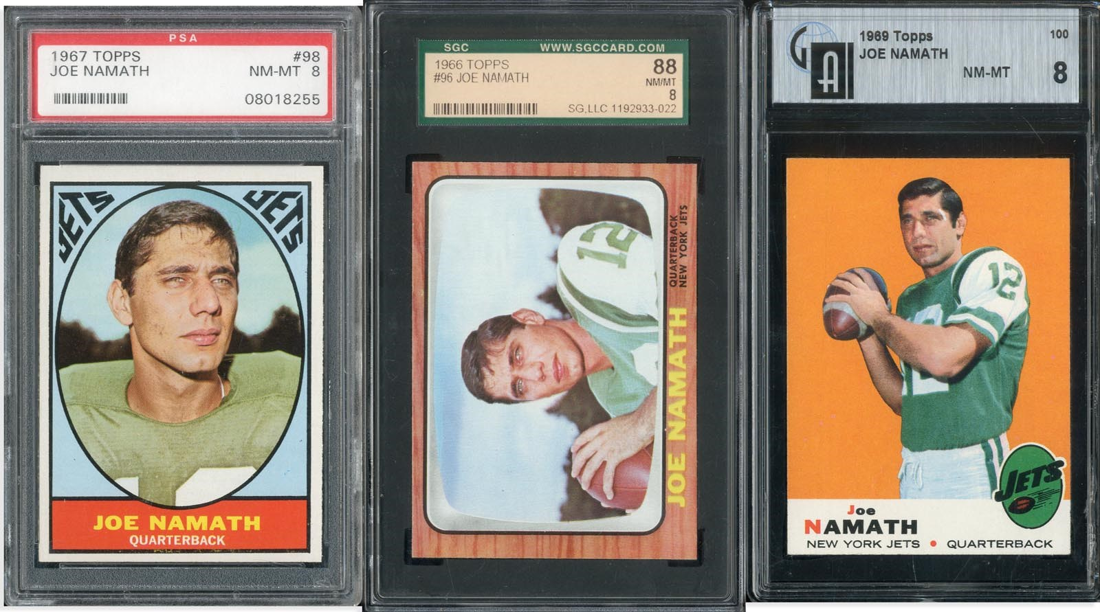 1960s-70s Topps Hall of Famer Collection (18) High Grade