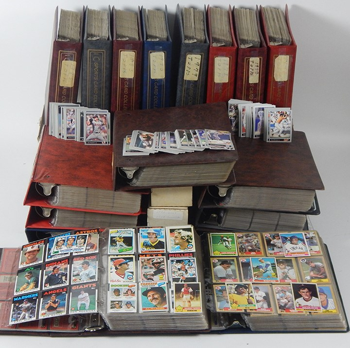 1970's - 80's - 90's Complete Baseball Card Set Lot (28)