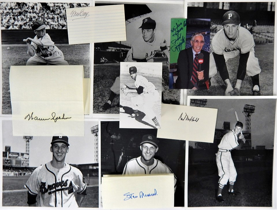 Collection of Baseball Autographs with HOFers (75+)