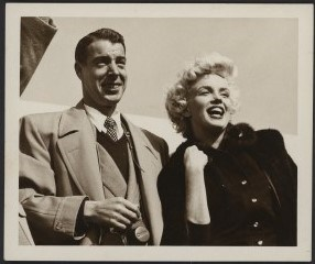 1954 Marilyn Monroe & Joe DiMaggio Type 1 Photograph