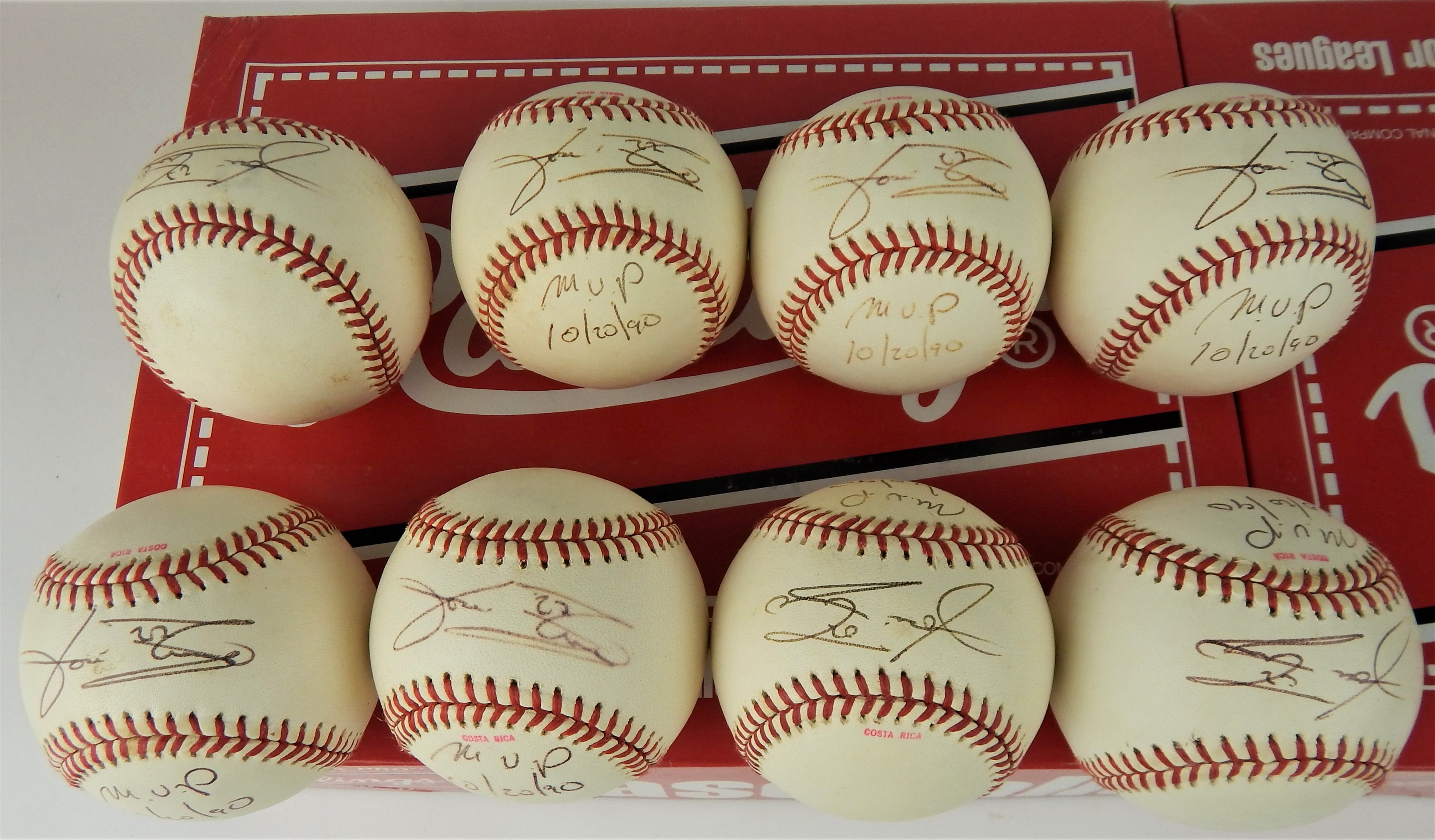 Bernie Stowe Cincinnati Reds Collection - Monthly 10-18