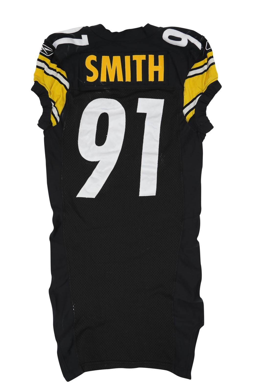 2005 Aaron Smith Game Worn Pittsburgh Steelers Jersey (Photo-Matched, Steelers COA)