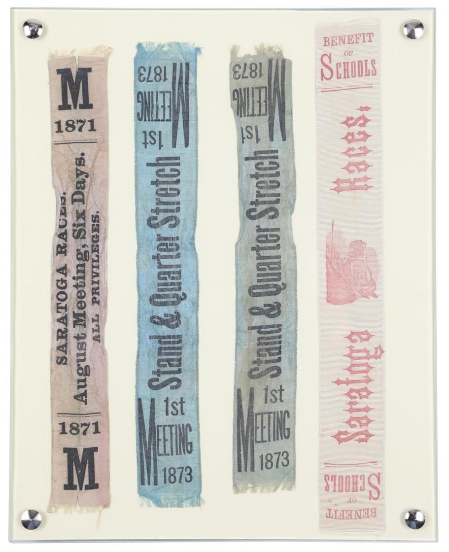 Historic Ribbons From Saratoga Race Course (4)