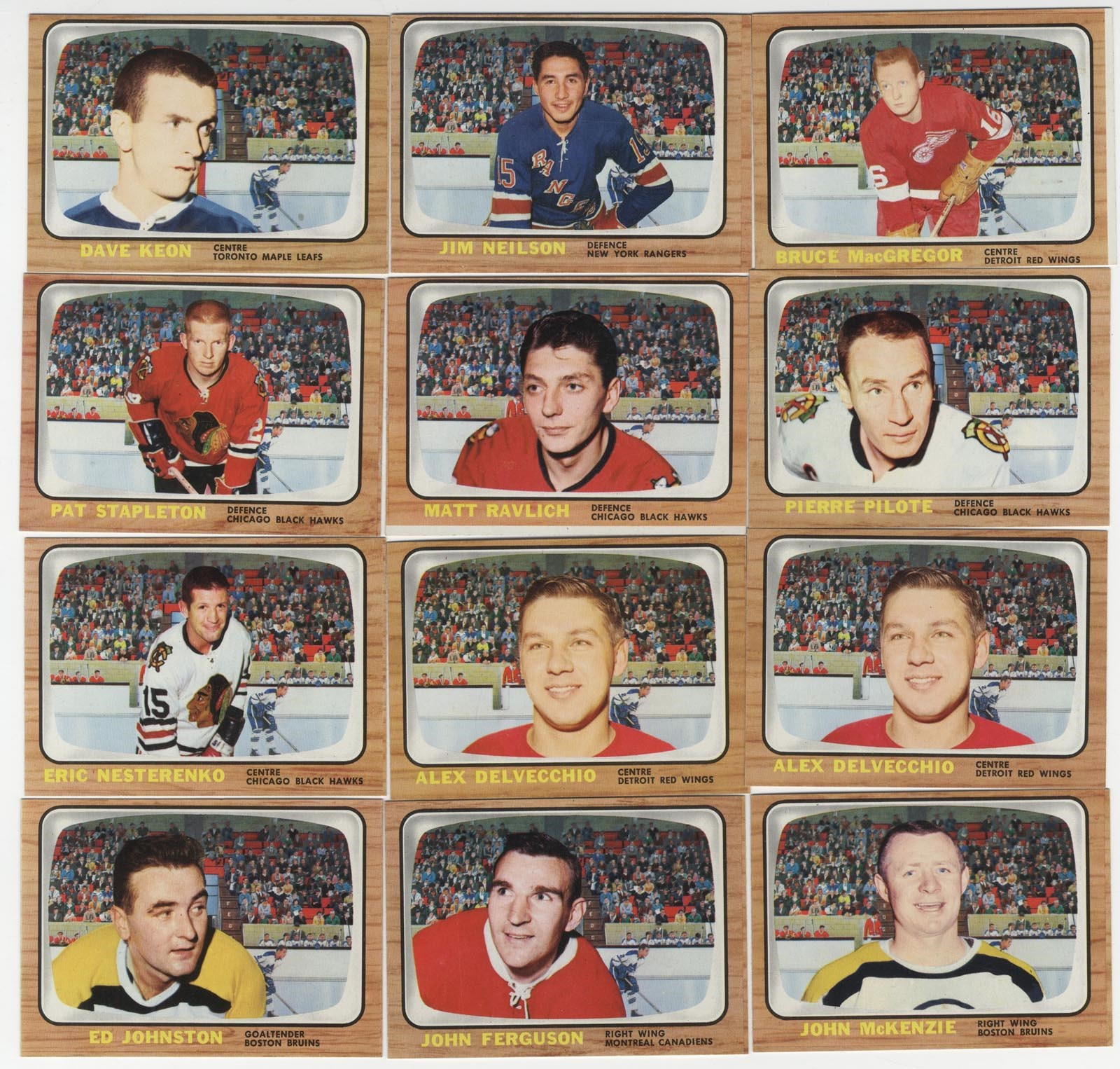 Hockey Cards - Monthly 12-18