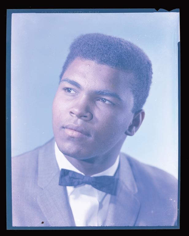 Mid-1960s Cassius Clay Becomes Muhammad Ali Original Negative