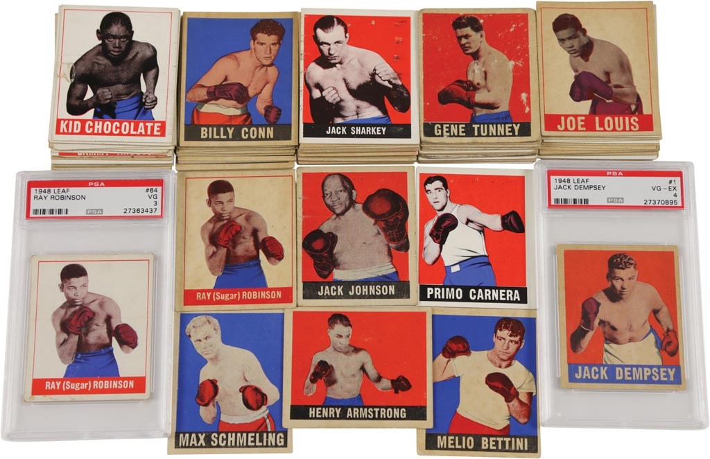1948 Leaf Boxing Collection (95+)