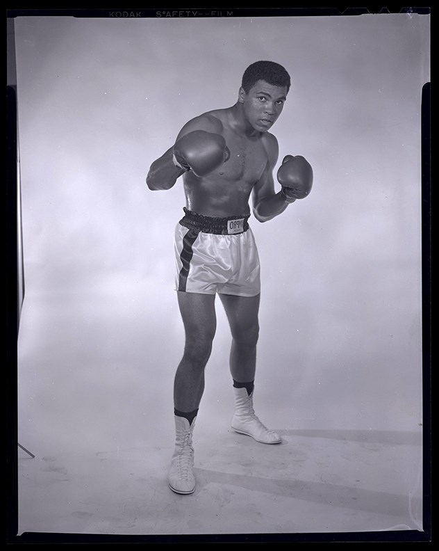 Classic Muhammad Ali Original Negative by Lowell Riley