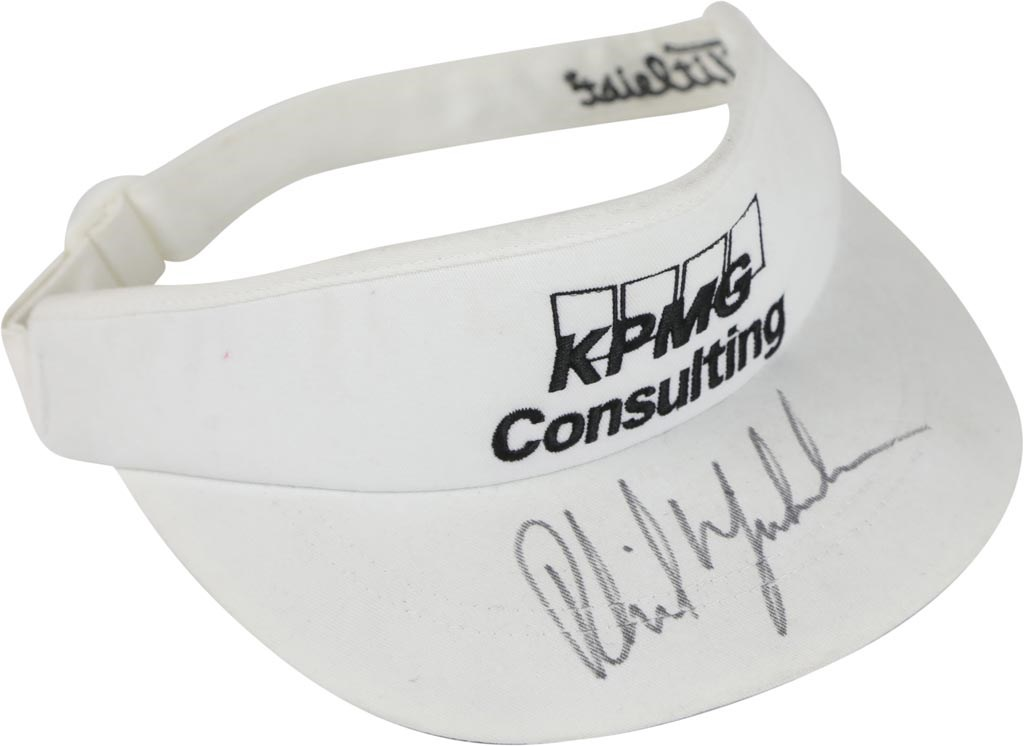 Circa 2002 Phil Mickelson Tournament Worn Titliest Visor