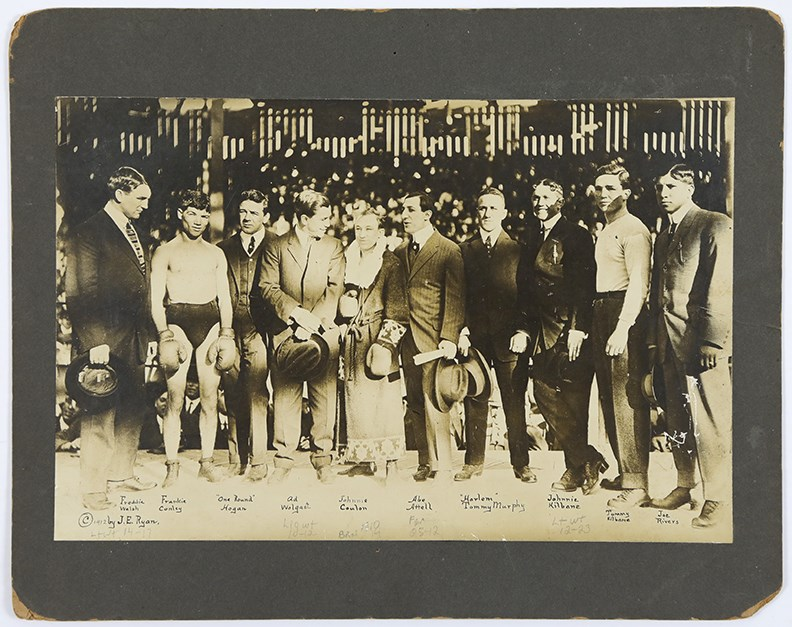 1912 Conley vs. Coulon Pre-Fight Photograph