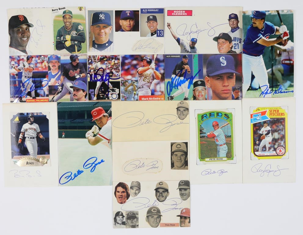 Baseball Autographs - Monthly 02-19