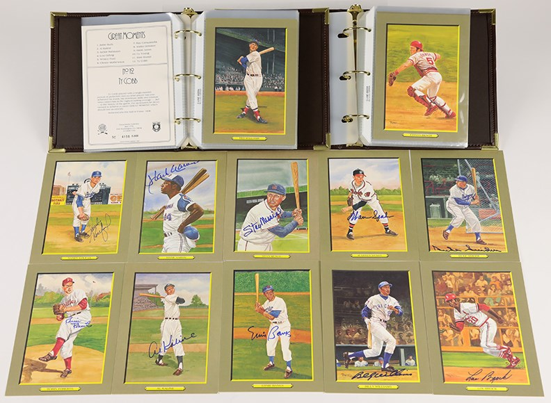 1985-93 Perez Steele Greatest Moments Series 1-8 Complete Set w/Ten Signed