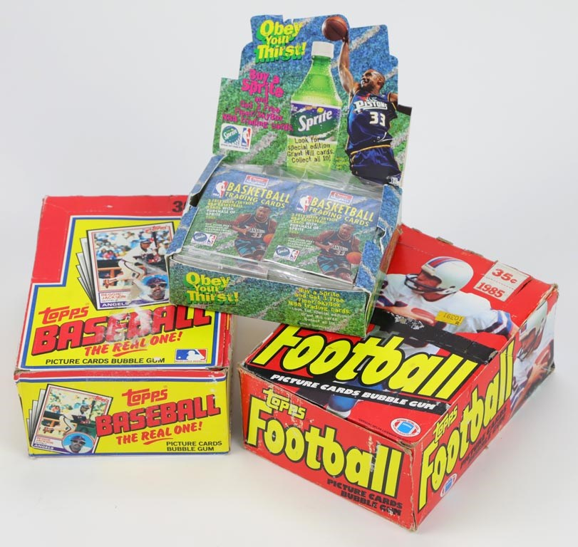 Unopened Wax Packs Boxes and Cases - Monthly 02-19