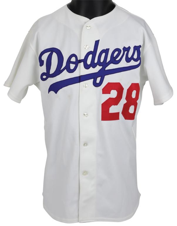 1985 Pedro Guerrero Game Worn Los Angeles Dodgers Jersey