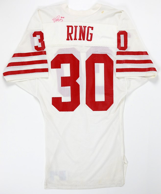 1981-86 Bill Ring Signed Game Worn San Francisco 49ers Jersey