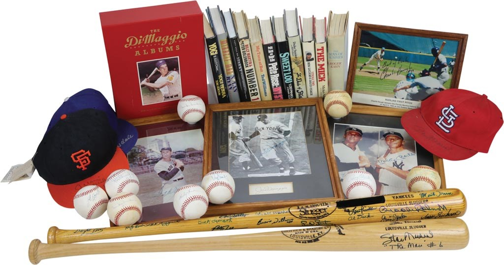 Hoard of Baseball Autographs with Icons and Hall of Famers (40+)