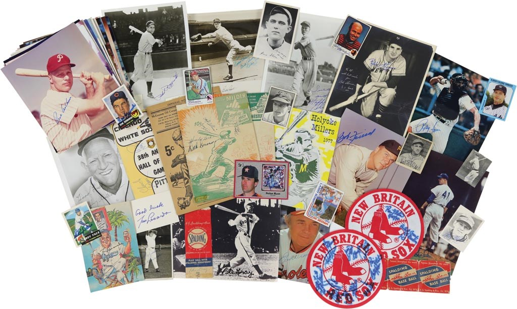 Multi-Sport Autograph Collection with All-Stars (160+)