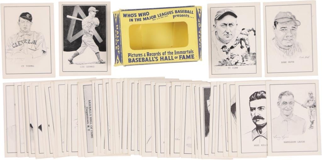 Scarce 1950 Callahan Complete Set Original Box