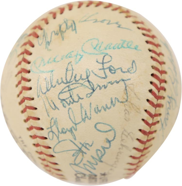 1974 Hall of Fame Induction Class Signed Baseball (PSA)