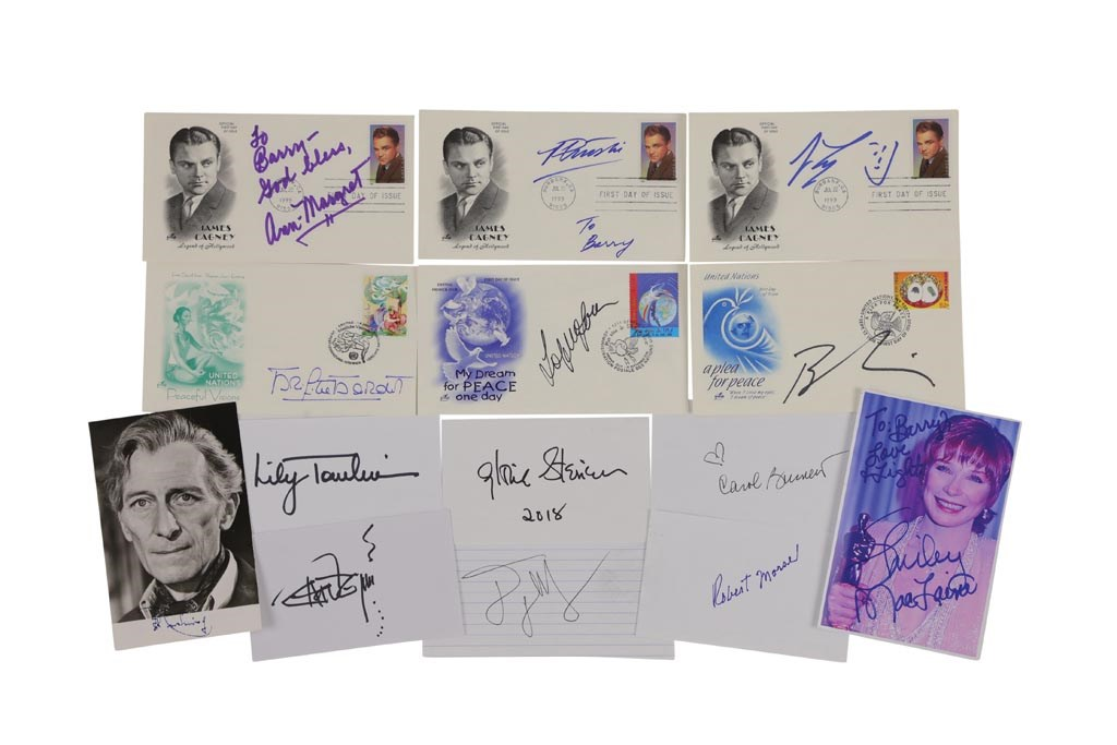 Hollywood Icons Autograph Collection with Major Stars (45+)