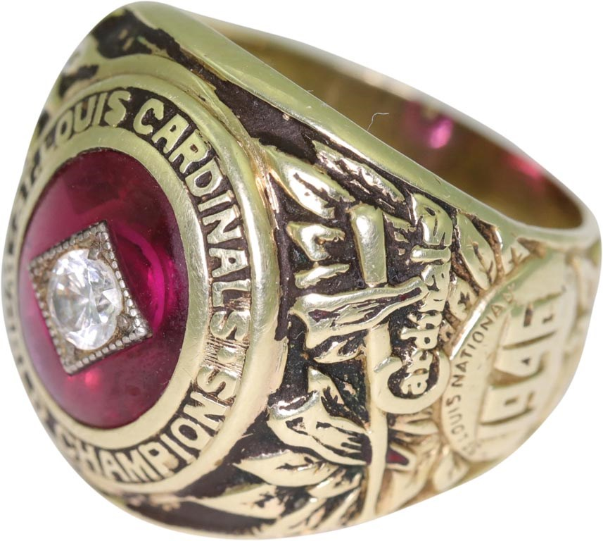1946 St. Louis Cardinals World Series Championship Ring