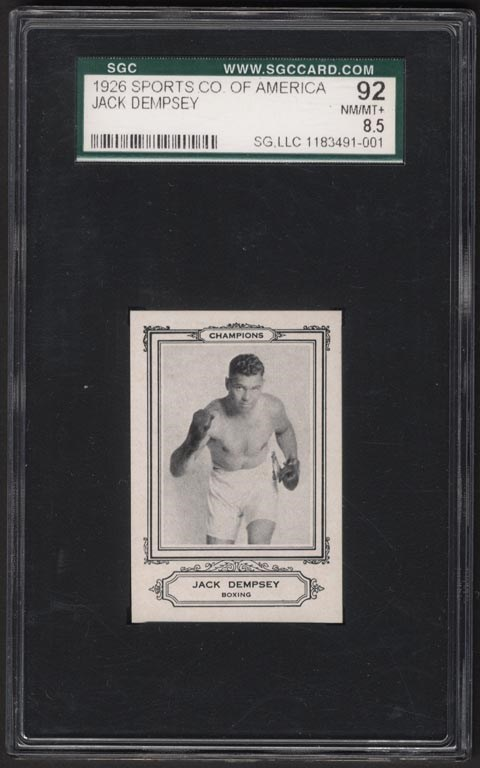 Boxing Cards - auction
