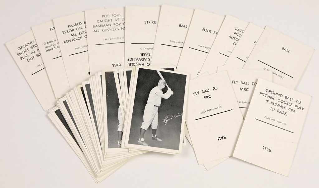 Roger Maris Game Cards (44)